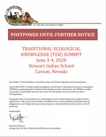 postponed letter