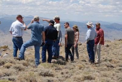 Local Area Working Group Field Trip to Mt. Grant