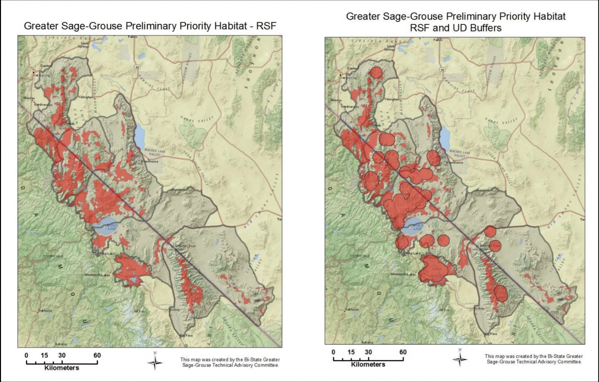 Habitat maps